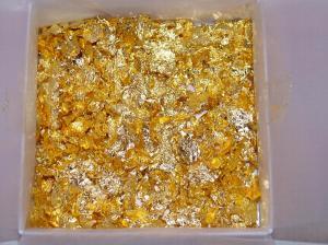 Что такое сусальное золото